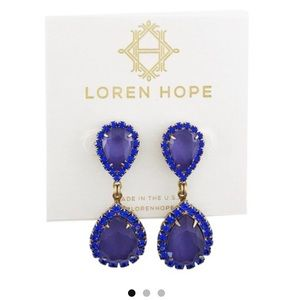 Loren Hope Abba Crystal Drop Earrings